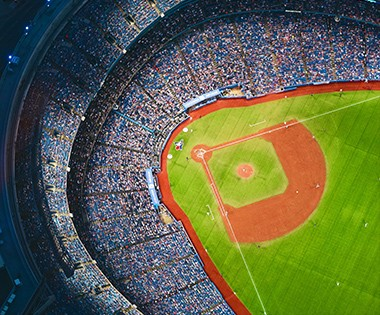 Stadium screen solution